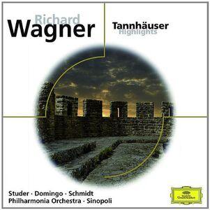 Foto Cover di Tannhäuser, CD di Richard Wagner, prodotto da Deutsche Grammophon