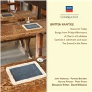 Foto Cover di Rarities, CD di Benjamin Britten, prodotto da Eloquence 0