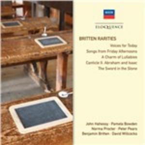 CD Rarities di Benjamin Britten 0