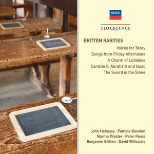 Foto Cover di Rarities, CD di Benjamin Britten, prodotto da Eloquence 1