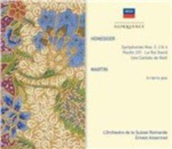 Foto Cover di Honegger. Symph 2 - 4; Chor, CD di Arthur Honegger,Ernest Ansermet, prodotto da Eloquence 0