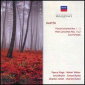 CD Concerti per pianoforte - Concerti per violino - 2 Ritratti di Bela Bartok