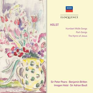 CD Humbert Wolfe di Gustav Holst