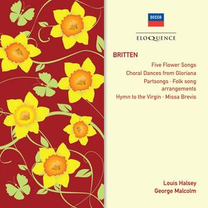 Foto Cover di Choral Works, CD di Benjamin Britten, prodotto da Eloquence