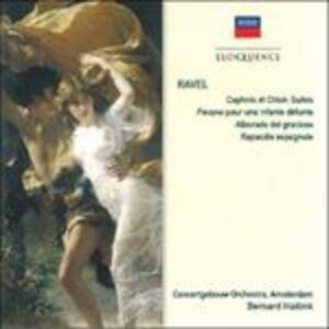 CD Daphnis et Chloé - Pavane pour une infante défunte - Alborada del gracioso - Rapsodia spagnola di Maurice Ravel