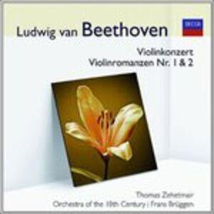CD Concerto per Violino - Romanze 1 di Ludwig van Beethoven