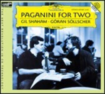 CD Paganini for Two di Niccolò Paganini
