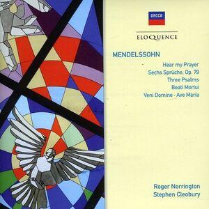 Foto Cover di Mottetti, CD di Felix Mendelssohn-Bartholdy, prodotto da Eloquence