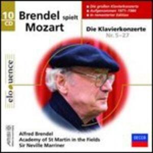 CD Concerti per pianoforte di Wolfgang Amadeus Mozart