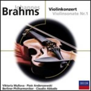 CD Concerto per violino / Sonata per violino n.1 di Johannes Brahms