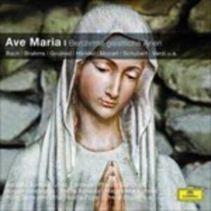 Foto Cover di Ave Maria - Beruehmte Geist, CD di  prodotto da Deutsche Grammophon