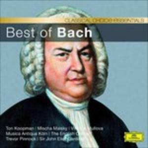 CD Best of Bach - Classical di Johann Sebastian Bach