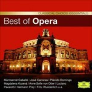Foto Cover di Best of Opera, CD di  prodotto da Deutsche Grammophon