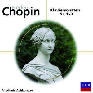 CD Sonate per Pianoforte Nr. 1 - 3 di Fryderyk Franciszek Chopin