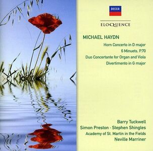 CD Concerti - Minuetti - Divertimento di Johann Michael Haydn