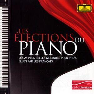 Foto Cover di Les Elections Du Piano, CD di  prodotto da Dgg