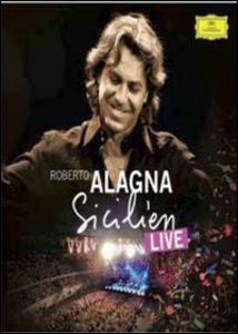 Film Roberto Alagna. Il siciliano. Live