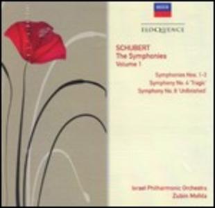 CD Sinfonie n.1, n.2, n.3, n.4, n.8 di Franz Schubert