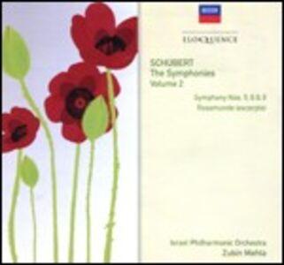 CD Sinfonie n.5, n.6, n.9 - Rosamunde di Franz Schubert