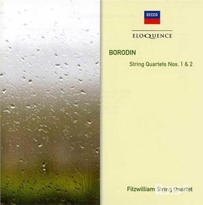CD String Quartets Nos. 1&2 di Alexander Porfirevic Borodin