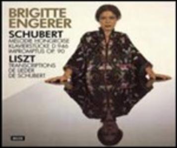 CD Musica per pianoforte Franz Liszt , Franz Schubert