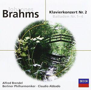 CD Concerto per Pianoforte Nr. 2 & di Johannes Brahms