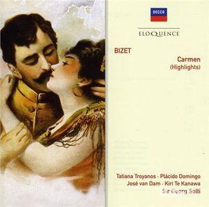 Foto Cover di Carmen, CD di Georges Bizet, prodotto da Eloquence