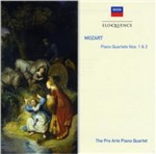 CD Quartetti con Pianoforte 1 & 2 di Wolfgang Amadeus Mozart 0