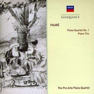 Foto Cover di Quartetto con Pianoforte No. 1. Piano, CD di Gabriel Fauré, prodotto da Eloquence