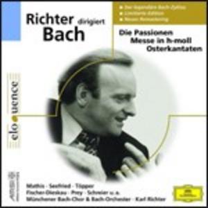 CD Karl Richter dirige Bach di Johann Sebastian Bach