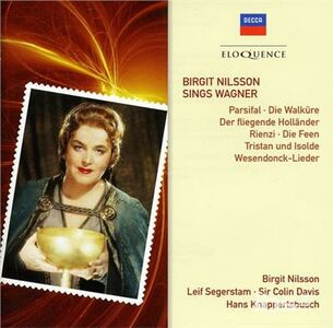 CD Birgit Nilsson Sings Wagn di Richard Wagner