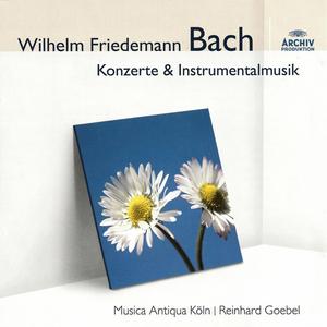 CD Concerti e sonate di Wilhelm Friedmann Bach