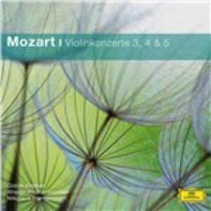 CD Concerti per violino n.3, n.4, n.5 di Wolfgang Amadeus Mozart