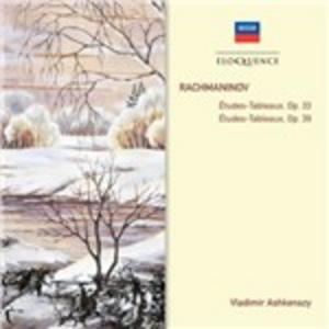 CD Etudes-Tableaux op.33, op.39 di Sergei Vasilevich Rachmaninov