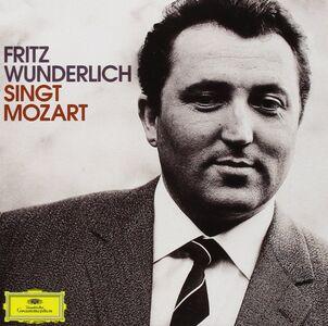 Foto Cover di Singt Mozart, CD di Fritz Wunderlich, prodotto da Deutsche Grammophon