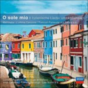 CD O Sole Mio. Canzoni Italiane