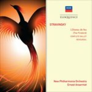 CD Stravinsky. The Firebird di Igor Stravinsky