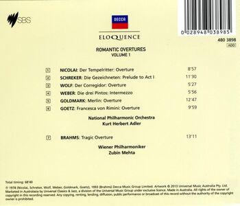 CD Romantic Overtures vol.1  1