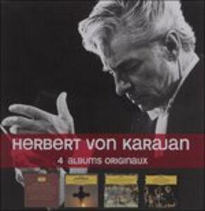 Foto Cover di 4 Albums Originaux, CD di Herbert Von Karajan, prodotto da Dgg