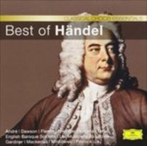 CD Best of Handel di Georg Friedrich Händel