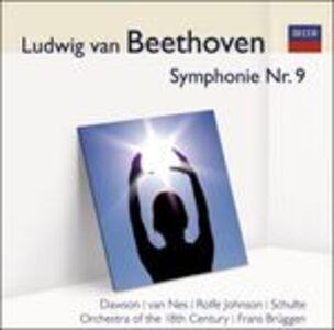 Foto Cover di Sinfonia n.9, CD di Ludwig van Beethoven, prodotto da Audior