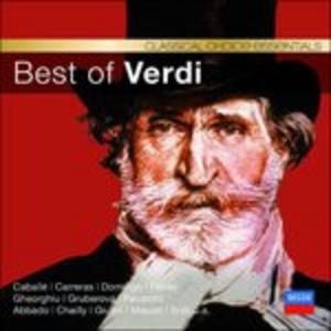 CD Best of Verdi di Giuseppe Verdi