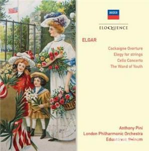 CD Cockagine. Cello Concerto di Elgar