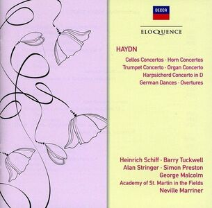 CD Concertos; German Dances di Franz Joseph Haydn