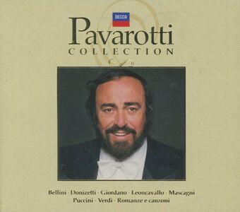 Foto Cover di Pavarotti Collection, CD di Luciano Pavarotti, prodotto da Decca