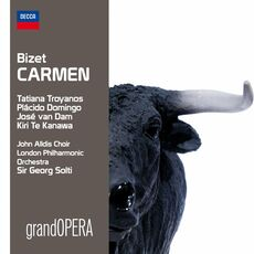 CD Carmen Georges Bizet Placido Domingo Georg Solti