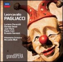 Pagliacci - CD Audio di Luciano Pavarotti,Ruggero Leoncavallo,Riccardo Muti