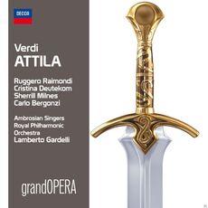 CD Attila Giuseppe Verdi Carlo Bergonzi Lamberto Gardelli