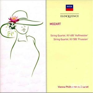 CD Quartetti per Archi Kv 499 & di Wolfgang Amadeus Mozart
