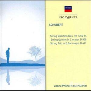 Foto Cover di Quartetti per Archi n.10,, CD di Franz Schubert, prodotto da Eloquence
